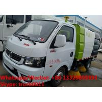 China 2019s cheaper price gasoline China made smallest street sweeping vehicle for sale, road sweeper cleaning truck on sale