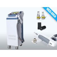 Best Q-Switched ND YAG Laser white + gray laser , Spot Size 2 - 8mm , Energy 1-1000mJ Tattoo Remover wholesale