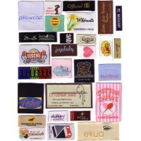 Quality custom woven main label for clothing for sale