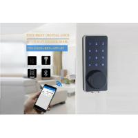 Quality Renting House / Condo Touchpad Bluetooth Digital Smart Lock Zinc Alloy Aluminium Material for sale