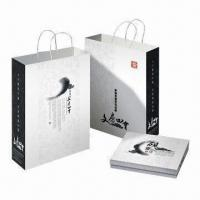 Buy cheap Paper Gift Bag for Promotional and Shopping Purposes from wholesalers
