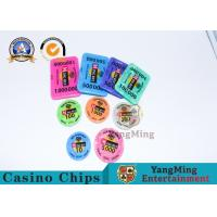 Quality ABS RFID Gambling Chips , Monte Carlo Blackjack Poker Chips With Security Number for sale