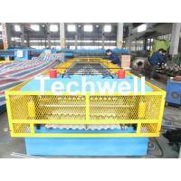 Quality Steel Silo Wall Sheet Corrugated Roll Forming Machine for Silo Side Panel for sale