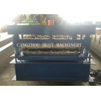 China YX-840 3kw Formed Roofing Sheet Roll Forming Machine 1000mm Width on sale