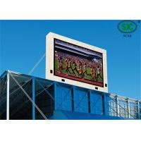Quality Large Outdoor Stadium LED Display , Commercial Center PH10mm Video LED sign for sale