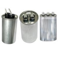 CBB65 Run Capacitor Round Metal Case oil filled for Air Conditioner and Refrigeration
