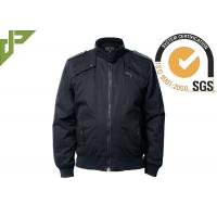 Quality 100% Cotton Black Military Tactical Jackets Soft Shell Windproof Washed for sale
