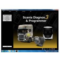 Quality Newest SDP3 V2.23 Software for SCANIA VCI2 without USB Dongle for sale