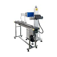 Quality Mini CO2 Laser Marking Machine / Paper Box Flying Laser Marke 1064nm for sale