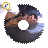 China High Strength Solid Carbide Saw Blade / Slitting Saw Blades For Metal Working on sale