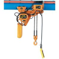 China Electric Crane Low Headroom Electric Chain Hoist 2 Ton With Trolley Full Certificate on sale
