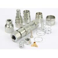 ISO 16028 Flush Face Hydraulic Quick Couplers , LSQ-FFY Flat Face Quick Couplers