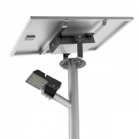 Quality All In Two IP65 60w Led Solar Street Light  Intelligent Control for sale