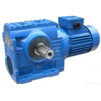 Quality High Torque Industrial Helical Worm Gear Motor SF57 / Shaft Mounted Gear Reducer for sale