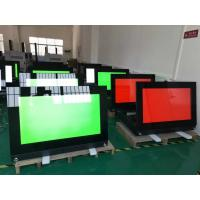 Quality Airport Self Service Food Kiosk 43 Inch Movable Self Help Computer Printing Enterprise for sale