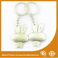 Quality Male and Female Rabbit Couples keychains For Valentine Day Gift for sale