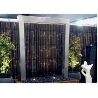 Quality Modern Design Stainless Steel Water Features For The Garden Custom Color for sale