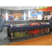 Quality 1.8M / 3.2M Eco Solvent Double Side Printer with Epson DX7 head to print Banner for sale