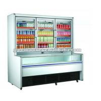 Quality R134a Combination Freezer Cabinet Double Engines For Shop for sale