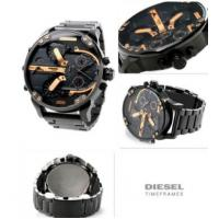 Buy cheap Wholesale NEW DIESEL DZ7312 MR. BIG DADDY 57MM BLACK ROSE GOLD STAINLESS STEEL from wholesalers