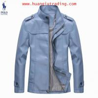 New arrival Mens Designer Leather Jackets,Top quality Gentle Mens Polo Leather Jackets