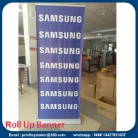 Quality Luxury silver Pull up Banners Roller up Banners for sale