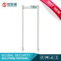 High Sensitivity Door Frame Metal Detector Multi Zone With PC Network Function