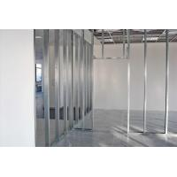 Quality Moisture Proof Steel Stud Partition , Metal Frame Stud Partitions Construction Materials for sale