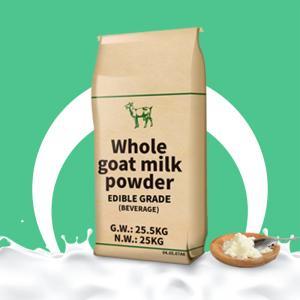 Quality Dry 25kg Raw Sterilizec Whole Full Cream Goat Milk Powder Edible Grade for sale