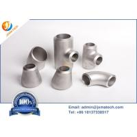 Quality Dn15-Dn1200 Titanium Pipe Fittings With Sand Blasting Polishing Surface for sale