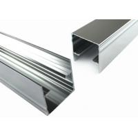 Quality T5 Arch Aluminum Window Profiles , Glass Door Metal Frame Aluminum Profile for sale