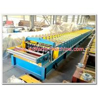 Quality Metal Floor Decking Panel Cold Rollforming Production Line with Hydraulic Steel Cutting and Electric Rolling Machine for sale