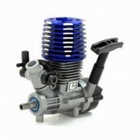 Quality Gas Engine with 2.45cc Capacity, Suitable for Cars, Boats, Fixed Wing or Helicopter Models for sale