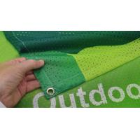 Quality Fabric Outdoor Mesh Banners Sign Wrap For Fence for sale