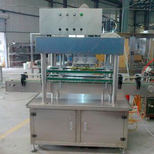 Quality 3L Bottle Detergent Liquid Filling Machine , Sauce Cans Liquid Filling Capping Machine for sale