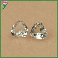 China Supplier White topaz customize all size and shape loose white topaz natural gemstone on sale