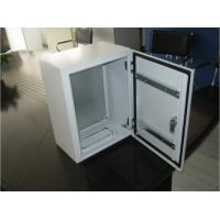 Quality RAL7032 and 7035 Electronic control cabinets customized for sale