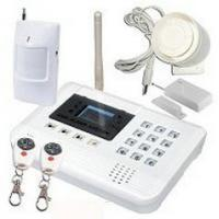 Quality OEM SIMCOM300Z 1800Mhz Electricity Remote Control Wireless SOS Security GSM Alarm System for sale