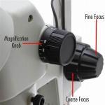 coarse knob fine focus rack 76mm 32mm focusing mount to hold microscope head