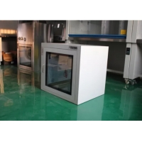 Quality ISO5 Electronic Interlock Pharmaceutical Clean Room Pass Box Powder Coated for sale