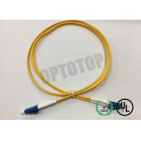 Best LC / UPC - LC / UPC OS2 Single Mode Optical Patch Cord 2f Zip 2.0mm Ofnr Corning Smf-28 Ultra wholesale