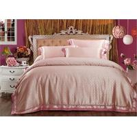 China Contemporary Tencel Bedding Luxury Bed Linens Silk Quilt Pink Pillowcase on sale