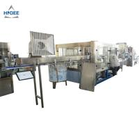 Quality water bottling machine price bottle rinsing filling and capping machine zhangjiagang filling machine liquid filler for sale