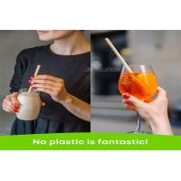 Buy Organic Biodegradable Wheat Drinking Straw Eco Friendly With Customized Logo at wholesale prices