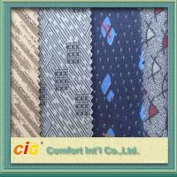 Quality Paper Printing Fabric Custom Auto Upholstery Fabric , Home Funiture Sofa Upholstery Cloth for sale