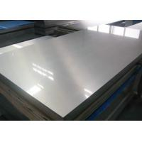 Quality Trailer Use Thin Aluminum Sheet , Aluminium Sheet 3mm Mill Finish Surface Treatment for sale
