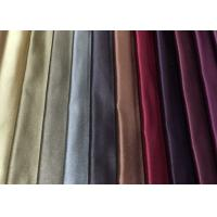 China Polyester Silk Plain Woven Fabric Colorful 220GSM For Drapery on sale