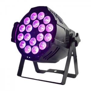Quality Event Party Stage LED Par Wash Lights RGBWA+UV 18*18W  6 In 1  Par Can led stage light 4in1/5in1 par for sale