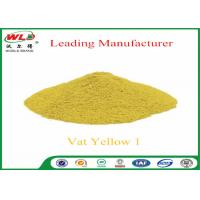 Quality OEM Textile Printing Auxiliaries C I Vat Yellow 1 Vat Yellow G Margin Designs for sale