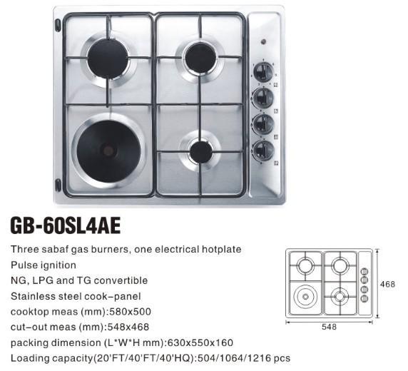 4 Burner Electric Cooktop Images